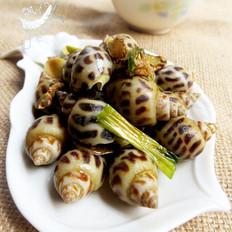 姜葱蒜焗花螺