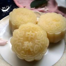 冰皮奶黄馅月饼