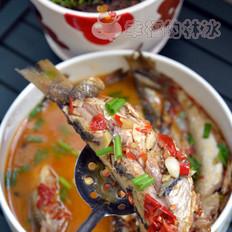 剁椒炖华子鱼