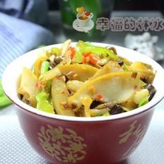 蟹味菇炒鲍鱼