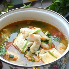 番茄豆腐龙俐鱼