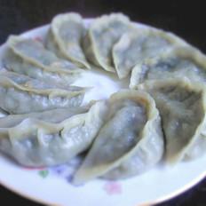 韭菜大蒸饺
