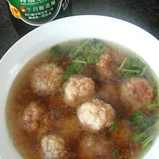 白萝卜素丸子汤