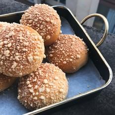 橙香酥粒面包