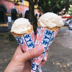 网红大白兔冰淇淋