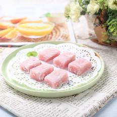 草莓小麻薯
