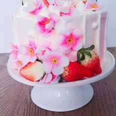 梅之花语蛋糕——第二届烘焙大赛获奖作品
