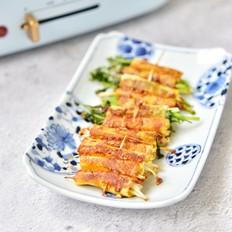 烤干豆腐卷的做法