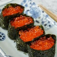 鲑鱼鱼籽寿司的做法