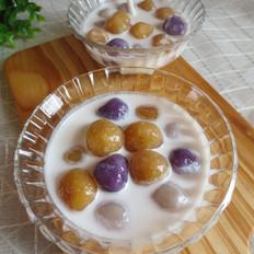 椰香三色芋圆