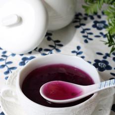 紫薯银耳糖水