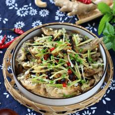豆豉蒸酥鱼