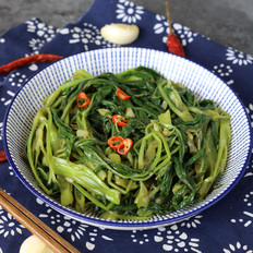 腐乳蒜蓉空心菜