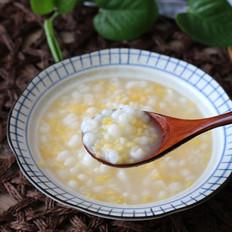 双色玉米粥