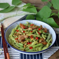 香猪肉炒豆角