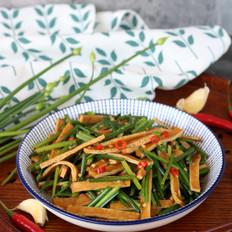 韭菜花炒香干