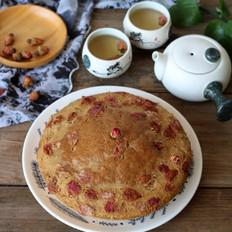 玫瑰红糖马拉糕