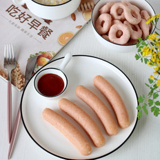 胡萝卜虾肉肠