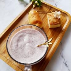 藜麦蓝莓奶昔的做法