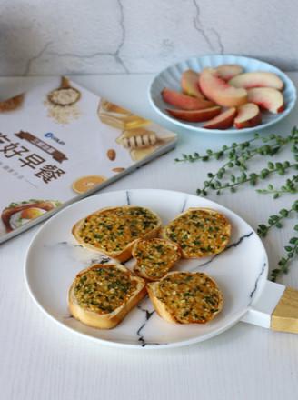 法式蒜香面包片的做法