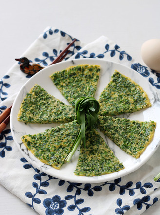 韭菜煎蛋——小白学做饭的做法