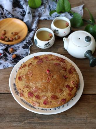玫瑰红糖马拉糕的做法