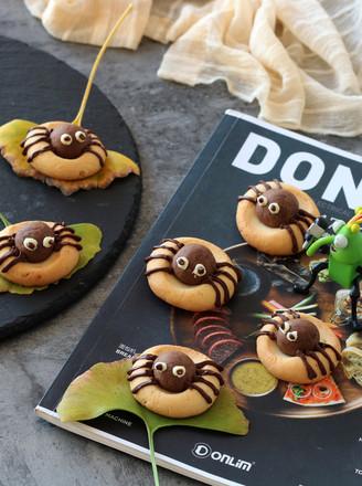 万圣节卡通蜘蛛饼干的做法