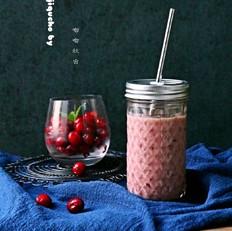 肉桂蔓越莓番石榴汁