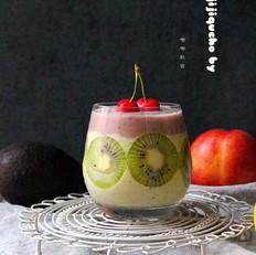 牛果油综合水果沙冰