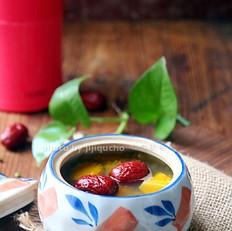 焖烧罐之南瓜绿豆糖水