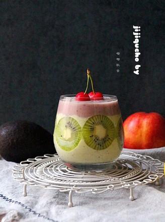 牛果油综合水果沙冰的做法