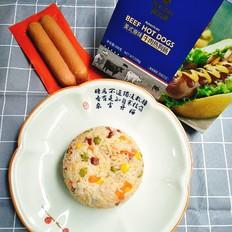 什锦香肠焖饭