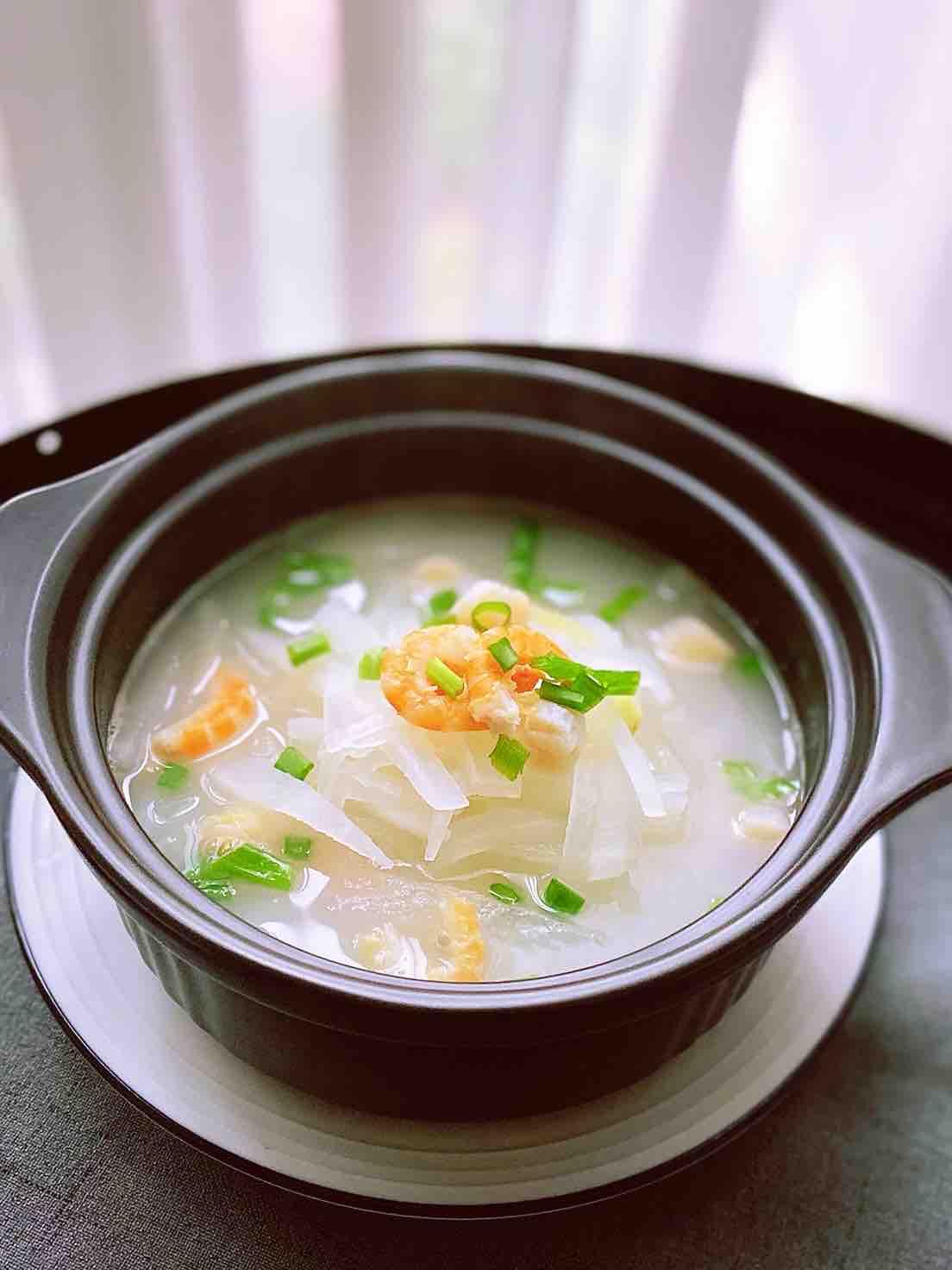海味萝卜丝汤—味道鲜美
