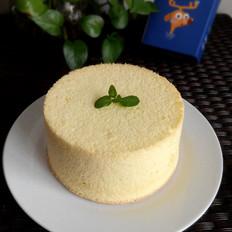 烤箱之香草戚风蛋糕(6寸)