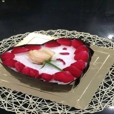 玫瑰心形蛋糕