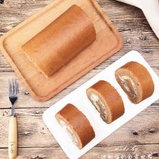 蛋糕火美人—火龙果蛋糕卷