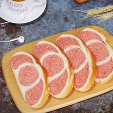双色椰浆面包