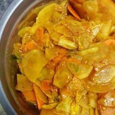 辣白菜土豆片