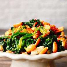 夏日C位凉菜❗️凉拌有机菠菜的做法