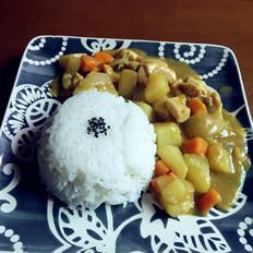 咖喱鸡肉饭 巨简单