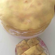 芒果千层蛋糕(大约10寸)