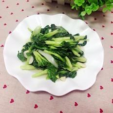 蒜炒小白菜