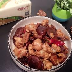 香菇烧鸡腿肉