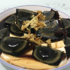 家常皮蛋豆腐(松花蛋豆腐)