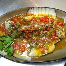 泰式三味鲈鱼