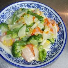 泰式椰浆烩蔬菜
