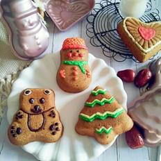 圣诞枣泥蛋糕