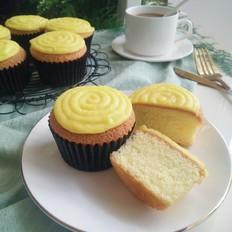 卡仕达杯子蛋糕