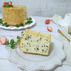黑芝麻酸奶蛋糕