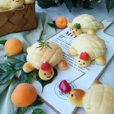 童趣小乌龟菠萝包